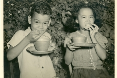 Children Eating Oct. 1941