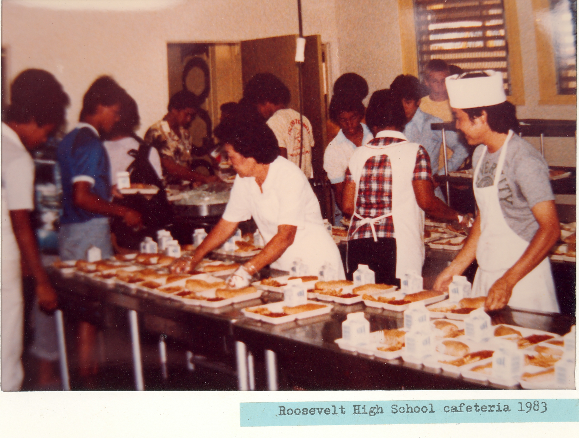Roosevelt High School 1983 02