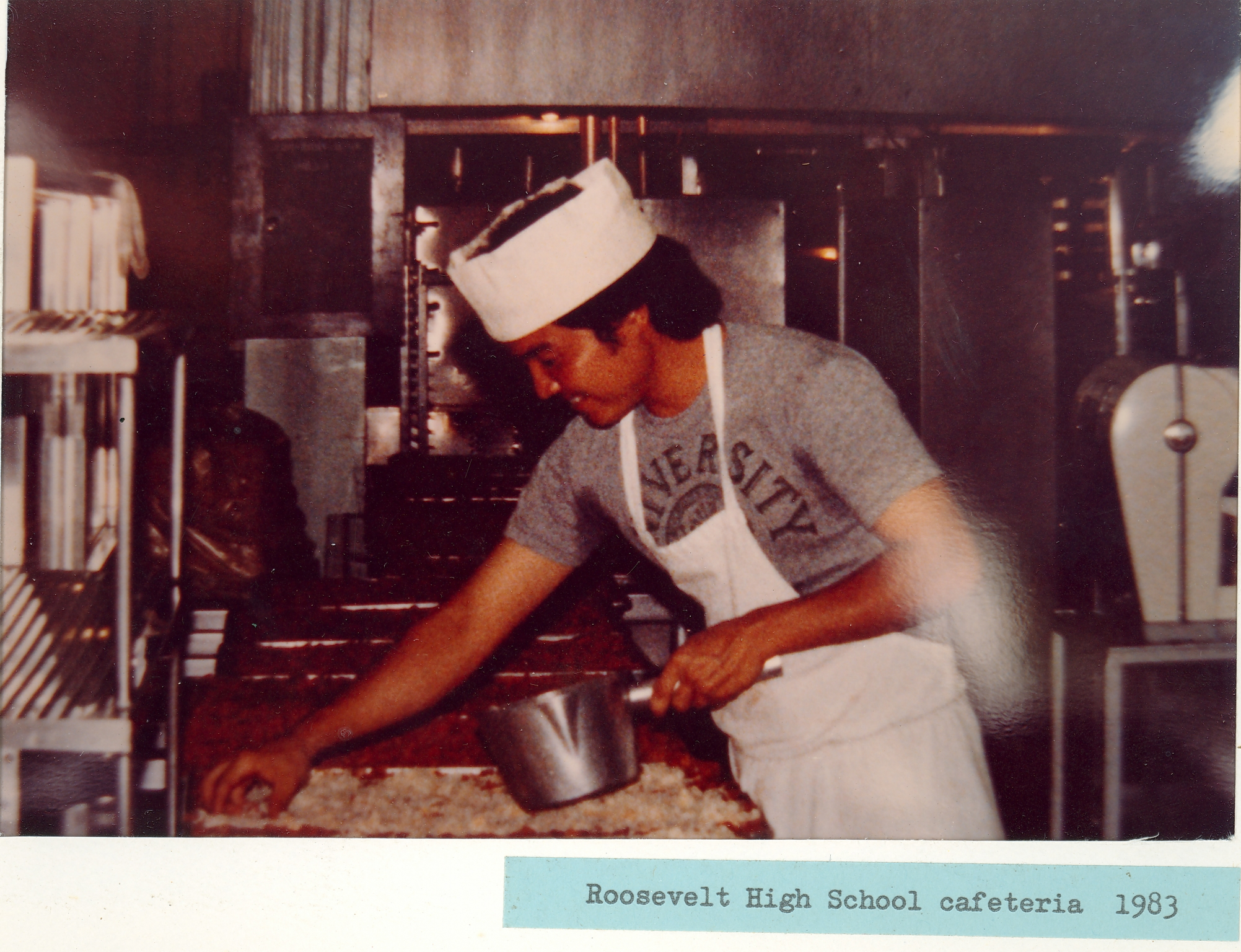 Roosevelt High School 1983 03