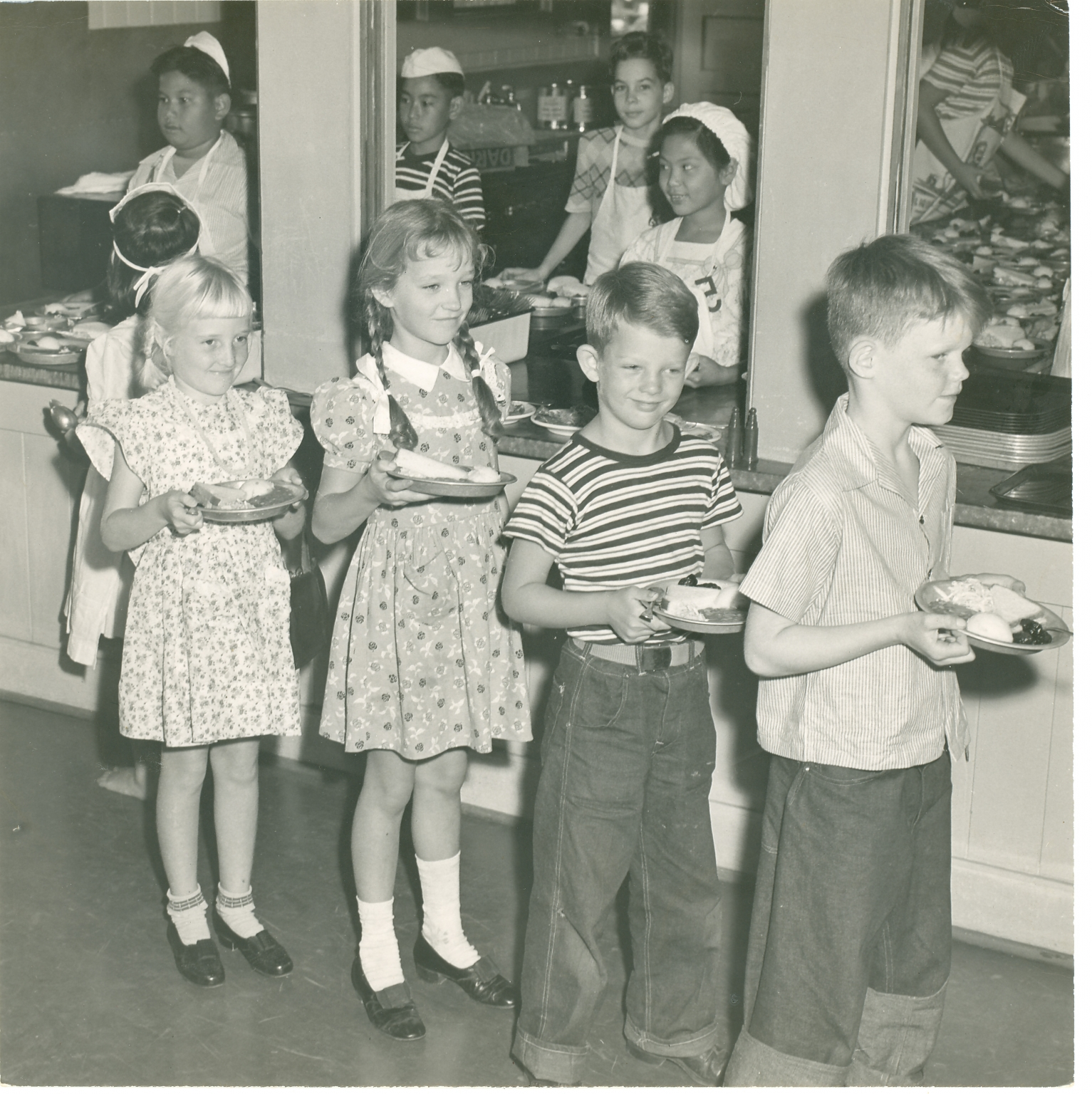 Thomas Jefferson Cafeteria 1947