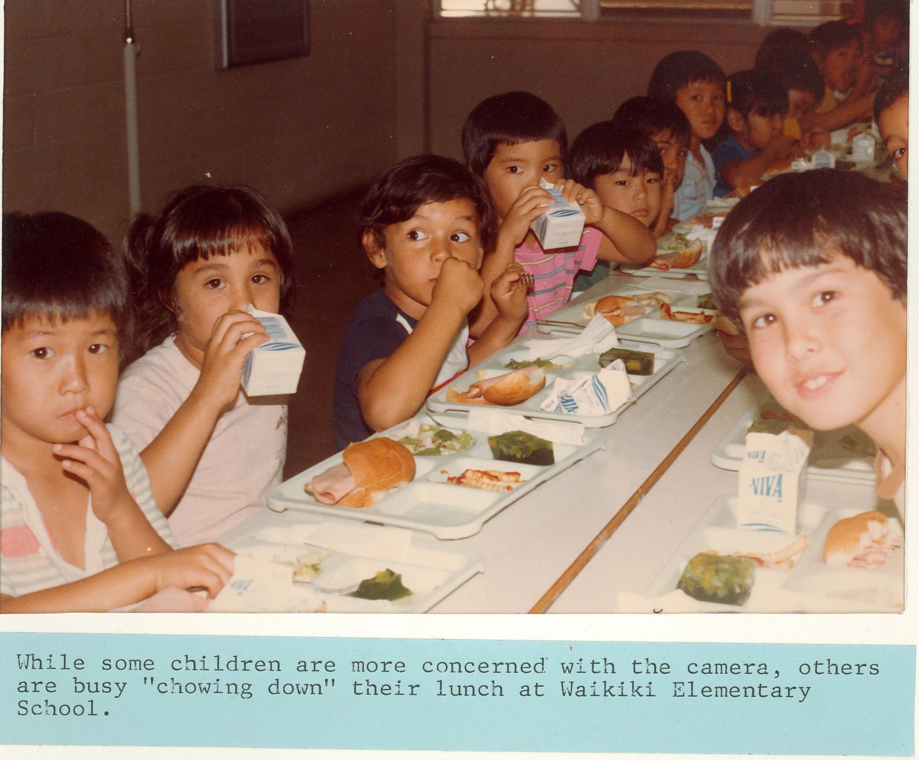 Waikiki Elementary Lunch