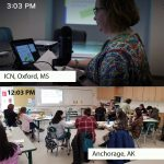 Photo of ICN remote training in Alaska on March 12, 2019