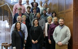 Group photo of 2019 Culinary Education and Training Division Advisory Board