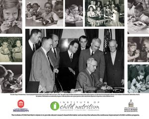 Collage of images form ICN Child Nutrition Archives