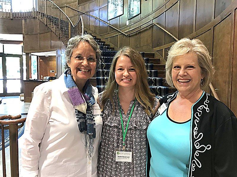 (L-R) Becki Schreiber, Kayla Steverson, Susan Wood
